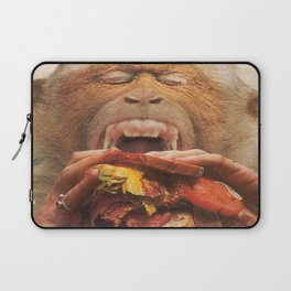 No More Fast Food Laptop Sleeve