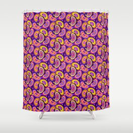 Trippy Beans Shower Curtain