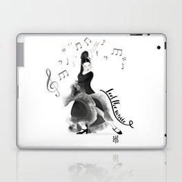 Flamenco dancer Laptop & iPad Skin