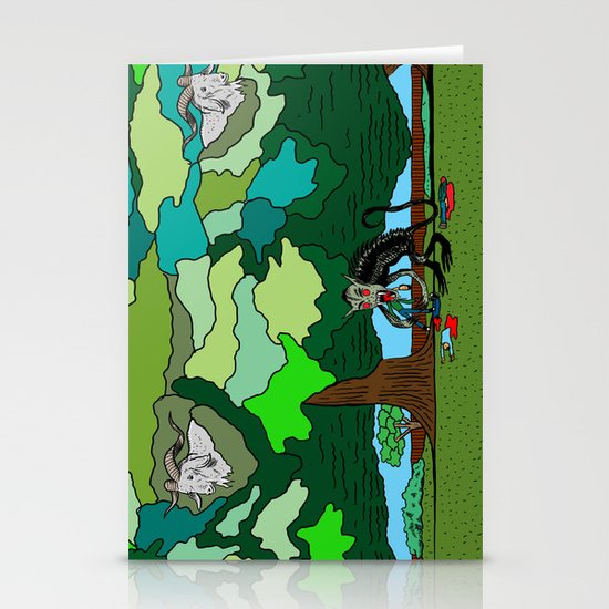 """""""Fade"""" by Steven Fiche Stationery Cards"""