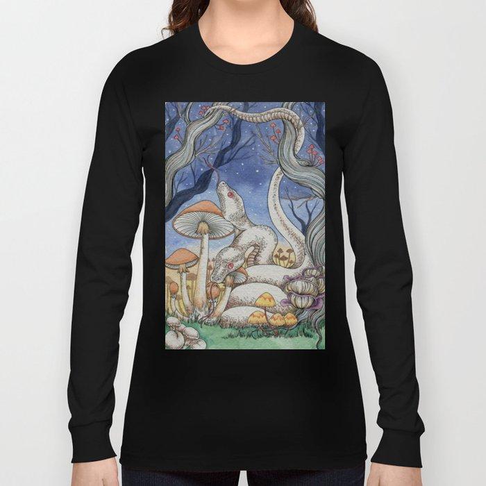Mushroom Dawn Long Sleeve T-shirt