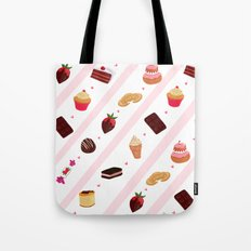 Sweets pattern Tote Bag