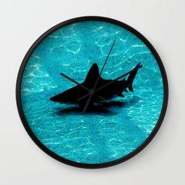 Sandbar Shark Wall Clock