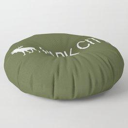Utah: Park City Moose Floor Pillow