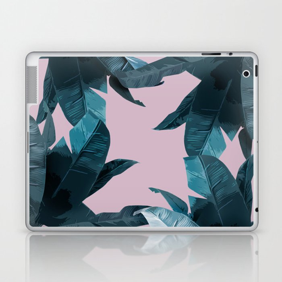 Tropical Palm Print #2 Laptop & iPad Skin