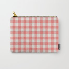 Modern red white classic 80s picnic pattern Carry-All Pouch