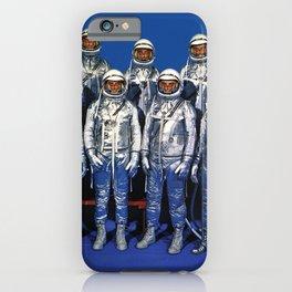 ASTRONAUTS & BUTTERFLIES iPhone Case