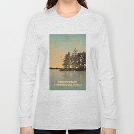 Frontenac Provincial Park Poster Long Sleeve T-shirt
