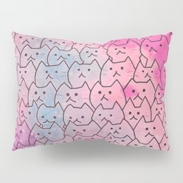 cats new colour 626 Pillow Sham