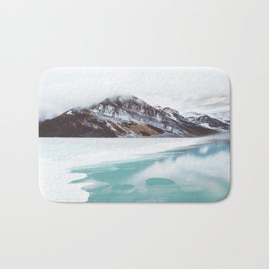 Canadian Mountains Bath Mat