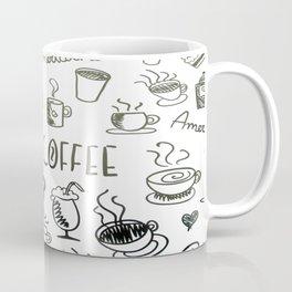 I Love Coffee Coffee Mug