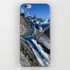 Mountain Creek #blue iPhone & iPod Skin