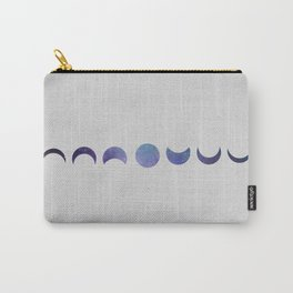 Galaxy Moon Phases Carry-All Pouch