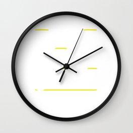 Rescued a Greyhound Wall Clock