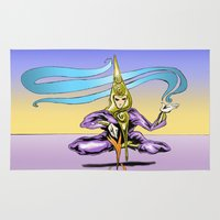alchemy Area & Throw Rugs featuring Alchemy  by Daniel McGuiness