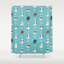Shih Tzus Shower Curtain
