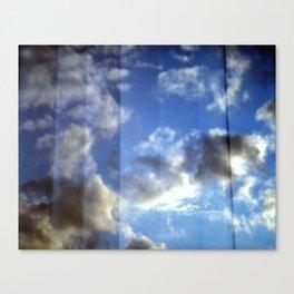 Cloud Curtain Canvas Print