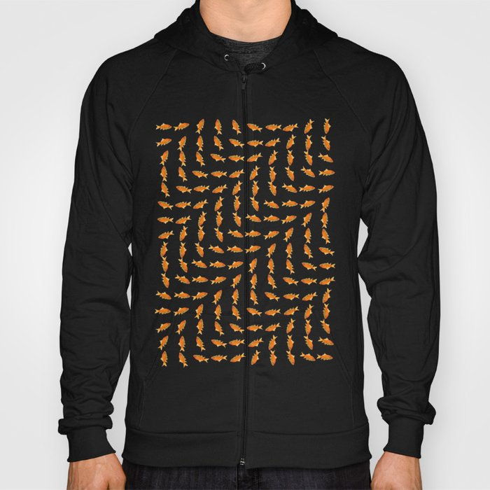 Goldfish Pattern Hoody