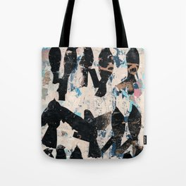 Silhouette bird abstraction Tote Bag