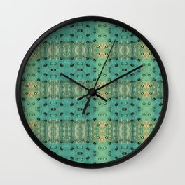 maculis_pattern no1 Wall Clock
