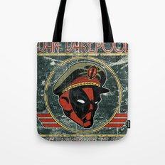 Dan Darepool: Insane Ninja-Merc of the Future Tote Bag