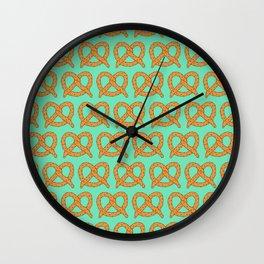 Salted Pretzels Wall Clock