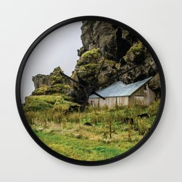House in the Hill Wall Clock