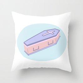 My Very Own Casket Throw Pillow