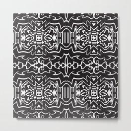 Order_pattern Metal Print