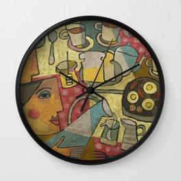 James Joyce, Ulysses.  Wall Clock