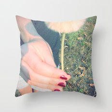 Here! Throw Pillow