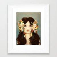 caleb troy Framed Art Prints featuring Helen of Troy by Maribellum