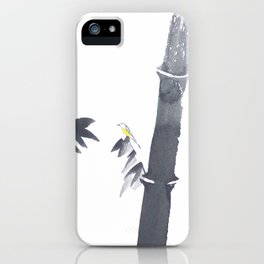 Chinese painting iPhone Case