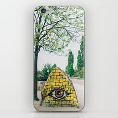 All Seeing Eye in Mauer Park, Berlin, Germany iPhone & iPod Skin