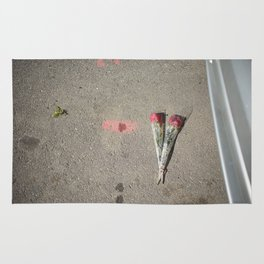 Say it with flowers Rug
