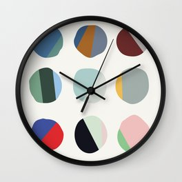 Splitting Atoms Wall Clock