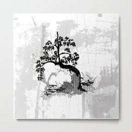 Stille Metal Print