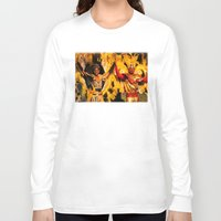 carnival Long Sleeve T-shirts featuring Carnival by Trevor Jolley