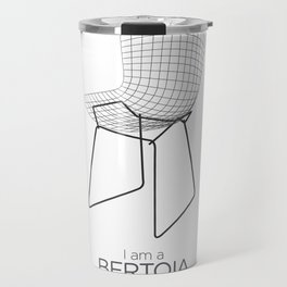 Chairs - A tribute to seats: I'm a Bertoia (poster) Travel Mug