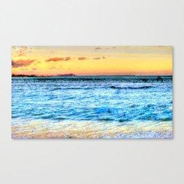 Hawaii/Diamond Head Canvas Print