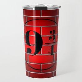 peron brick wall Travel Mug