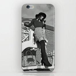 LARA LAY - Industrial Fashioned Girl iPhone Skin