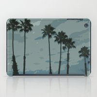 palms iPad Cases featuring Palms by Amanda Bates