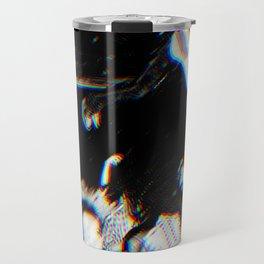 Playboi Carti - Die Lit (Split Color Glitch Effect) Travel Mug