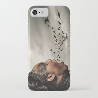 inner demons iPhone & iPod Cases featuring The Demons Within by Shaun Lowe