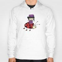 ladybug Hoodies featuring Ladybug by flydesign