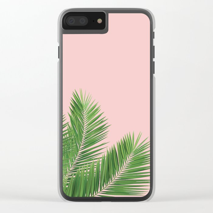 Summer in my mind Clear iPhone Case