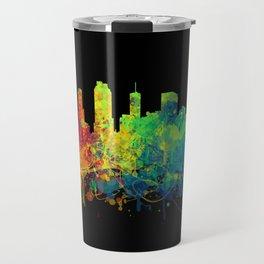 Painted Skylines: Atlanta Travel Mug