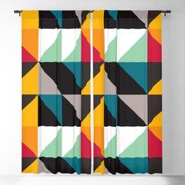 Geometric Pattern 30 (triangles) Blackout Curtain