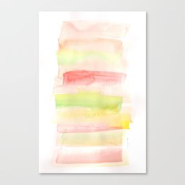 171122 Self Expression 7| Abstract Watercolors Canvas Print
